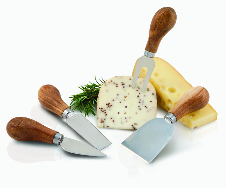 Rustic Farmhouse Gourmet Cheese Knives $15.29 @ www.thewineboxessentials.com