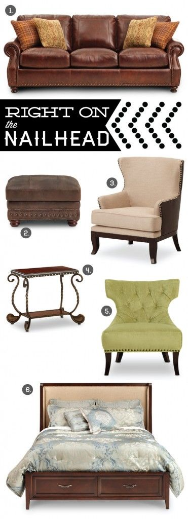 6 Must Have Nailhead Trim Furnishings For Your Home