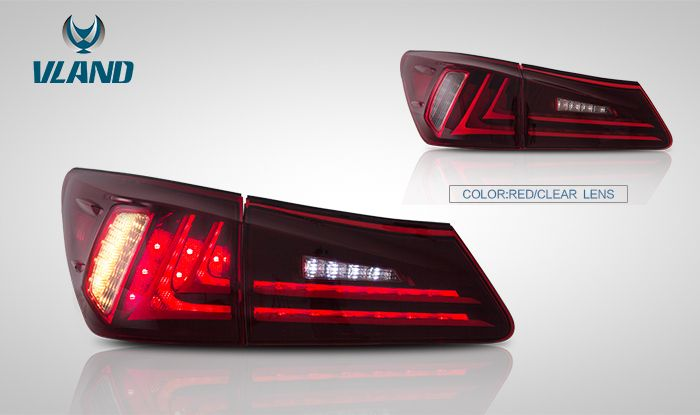 Tail Lights For Lexus Is250 Is350 Isf 2006 2012 279 99 Lexus Is250 Lexus Tail Light