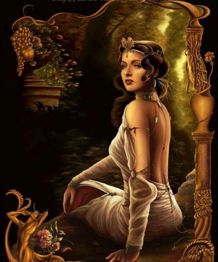 Богиня анимация картинки