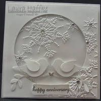 The Paper Players - nice winter anniversary card