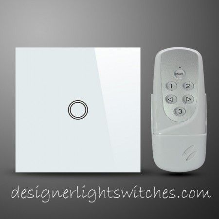 This is a 1 Gang 1 Way Light Switch with remote control  This is operated39 best Designer Glass Sockets   Switches images on Pinterest  . Remote Control Outdoor Light Switch 1 Gang. Home Design Ideas