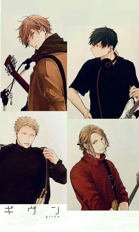 GIVEN Anime.tv 2019 | Personajes de anime, Dibujos de ...