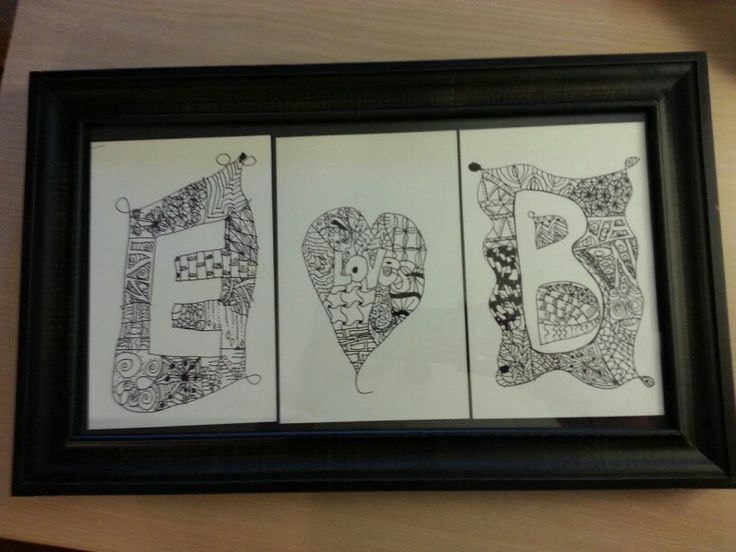 Wedding Gift For Uncle : Wedding Gift for Uncle & Aunt B created by my 7 year old! (from Karen ...