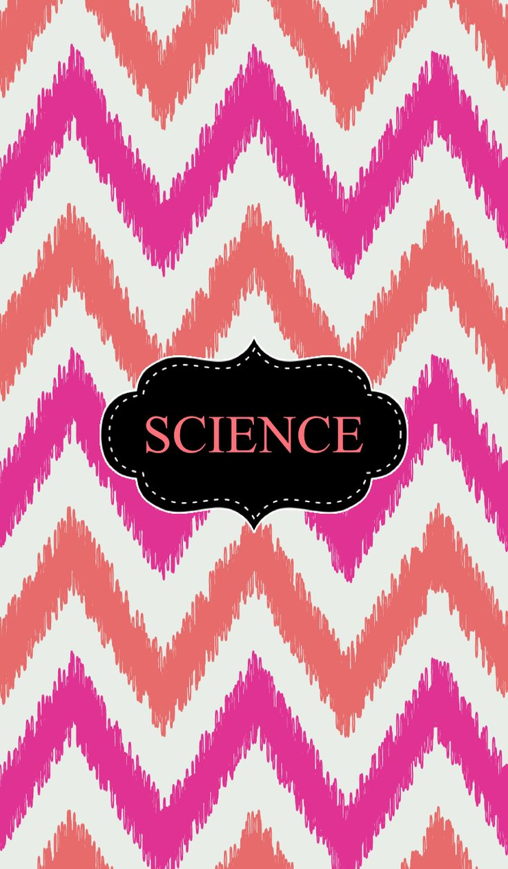 Science School Book Cover : Chevron science binder cover covers pinterest
