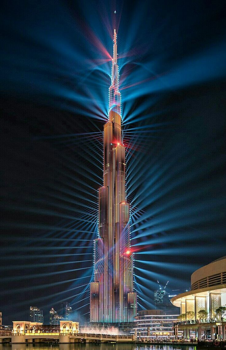 Burj Khalifa Dubai United Arab Emirates In 2019 Dubai