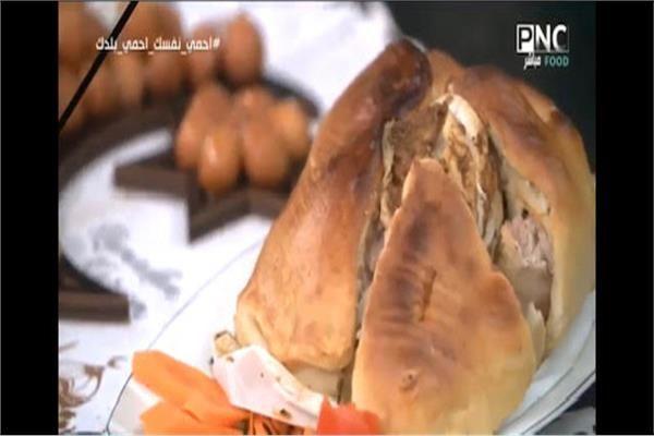 سفرة رمضان فيديو طريقة عمل أسرع وأطعم دجاج مشوي بالعجين بوابة أخبار اليوم الإلكترونية تحتار ربات البيوت في اختيار أكلات ومشروبات شهر رمضان لتق Food Turkey