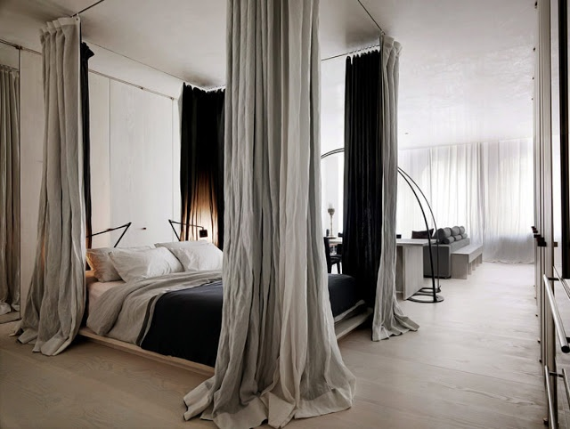 I want curtains like this around my bed