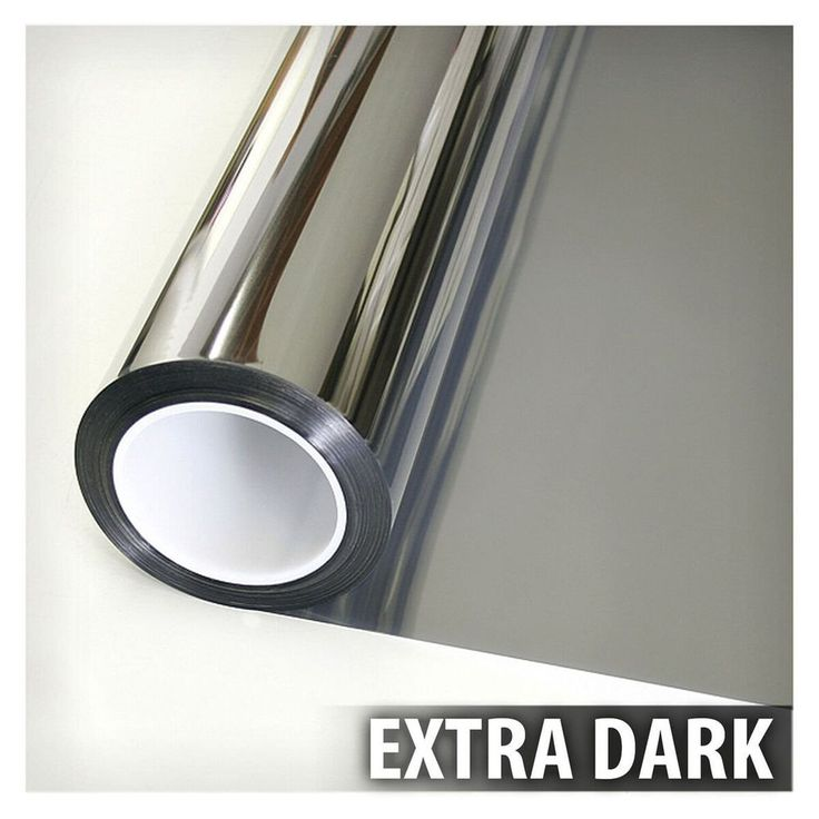 One Way Mirror Window Film Silver 5 Privacy Tint Reflection 36 inch X 12 ft NEW #Buydecorativefilm
