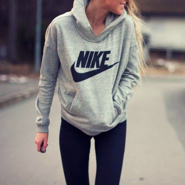 info for 863fe 5652b Women Fashion NIKE Hooded Top Sweater Pullover Sweatshirt ...