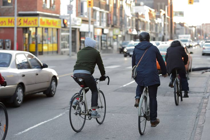 Bike Commuting.