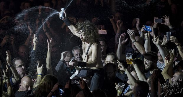 A night of intense no frills rock 'n roll with Airbourne, Phil Campbell and The Wild. – RAMzine