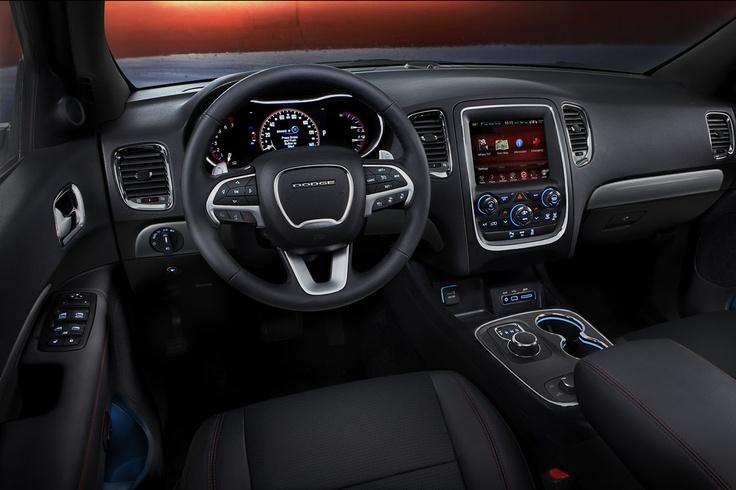 Dodge Durango 2013 interior.