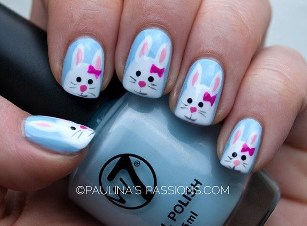 25 best images about cutest nails on pinterest nail art converse simple easter bunny nail art designs ideas 2014 for learners solutioingenieria Choice Image