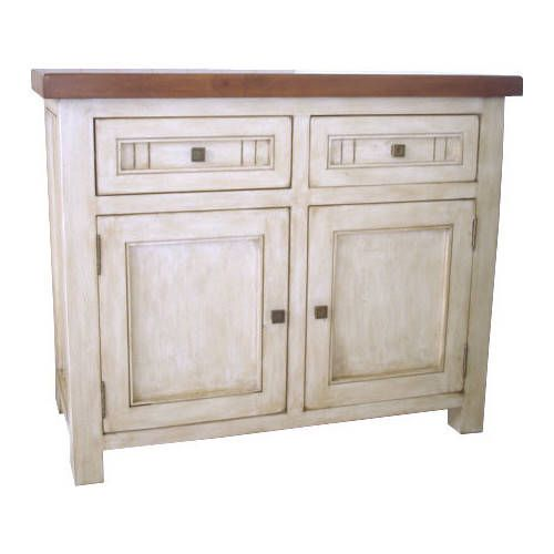 By Designs Town and Country 2 Drawers Buffet in Latte / Espresso