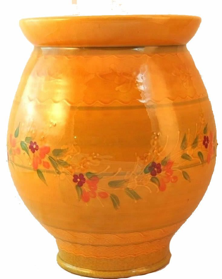 French Pottery Vase