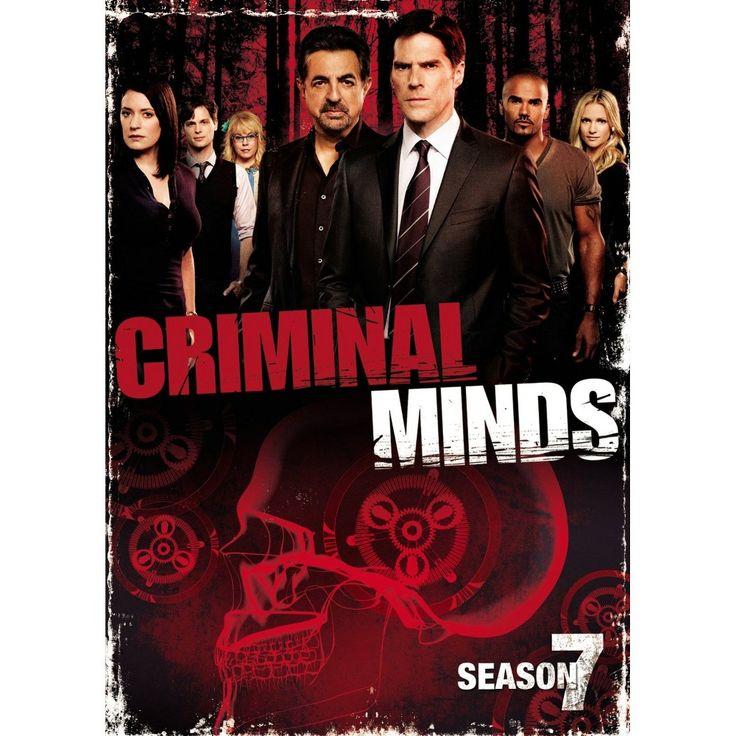 Criminal Minds: The Seventh Season (6 Discs) (dvd_video)