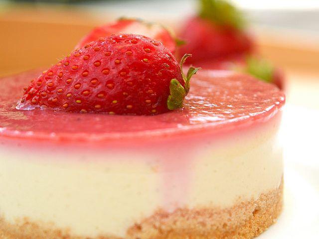 Cheesecake Bimby Vegan alle Fragole