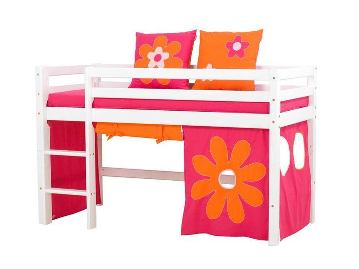 Unique Vorhang Flower Power f r Spielbett oder Etagenbett xcm Hoppekids Jetzt bestellen unter https moebel ladendirekt de kinderzimmer betten baldachine