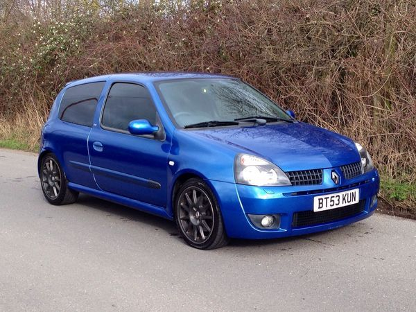 2003 (53) Renault Clio 2.0 16V Renaultsport 172 Cup - new 2015 MOT For Sale In Stoney Stanton, Leicestershire