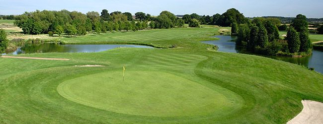 16th hole of the Open course - a challenge!