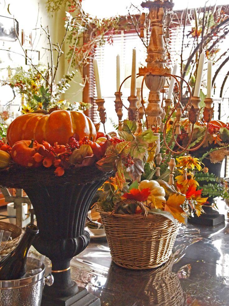 : Decor Ideas, Fall Decor, Fall Ideas, Decor Pumpkin, Thanksgiving Decor, Nell Hill, Fall Tables, Thanksgiving Tables, Tables Decor