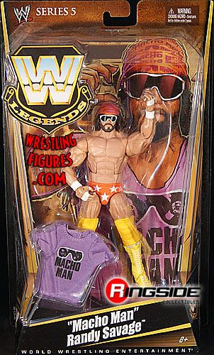 RINGSIDE COLLECTIBLES WWE Toys, Wrestling Action Figures, Jakks Pacific, Classic Superstars Action F: RANDY SAVAGEWWE LEGENDS 5WWE Toy Wrestling Action Figure