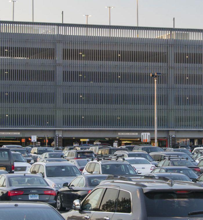 Laguardia Airport East Parking Garage Walker Consultants Laguardia Airport Parking Garage Airport