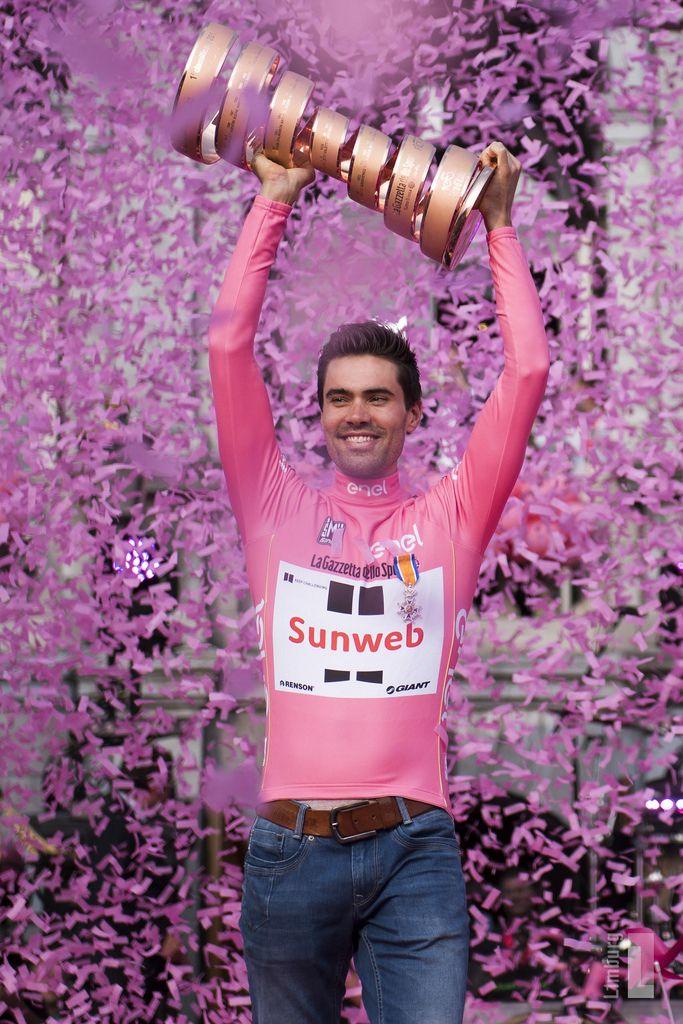 Tom Dumoulin, Winnaar Giro 2017, Gehuldigd in Maastricht, Zuid-Limburg.