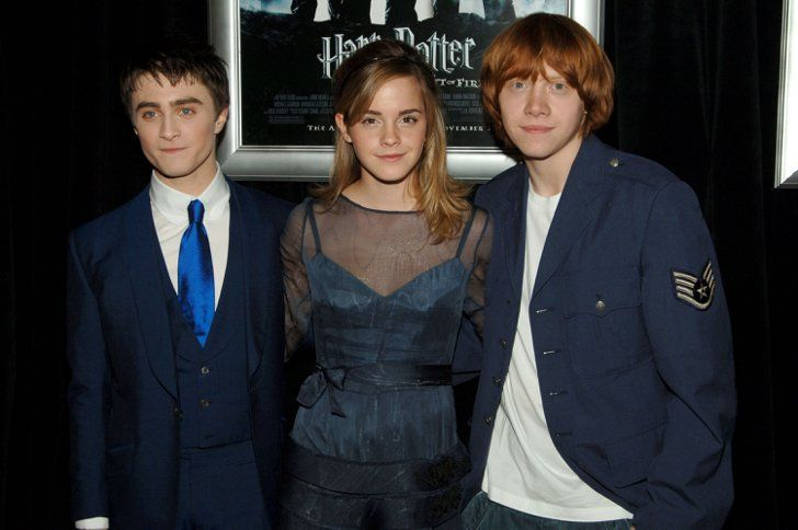 Pin for Later: See the Harry Potter Cast Grow Up Right Before Your Eyes Harry Potter and the Goblet of Fire Premiere (2005)