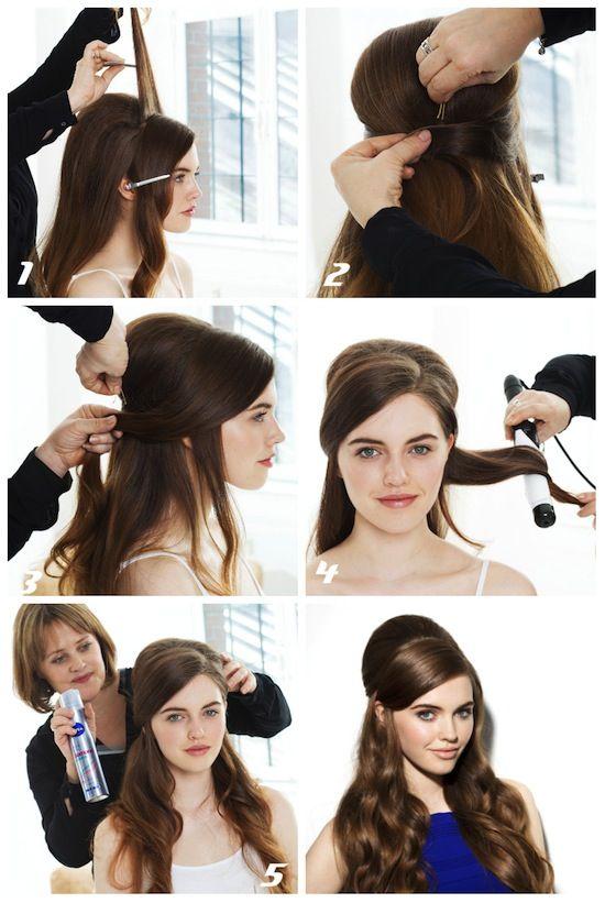 göndör frizura
