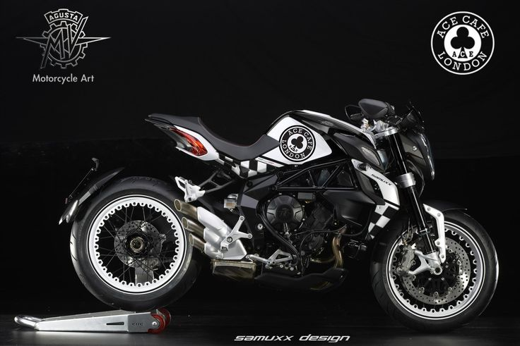 Mv Agusta Dragster RR Ace Cafe London by SAMUXX.deviantart.com on @DeviantArt