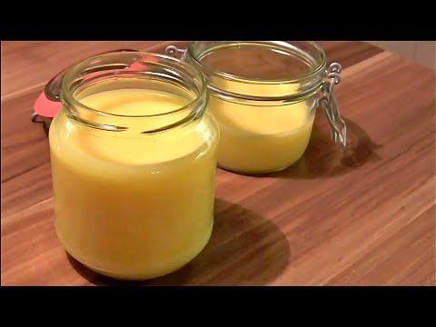 Ghee selber machen-Butterschmalz herstellen-geklärte Butter-Clarified Butter-Ayurveda Küche - YouTube