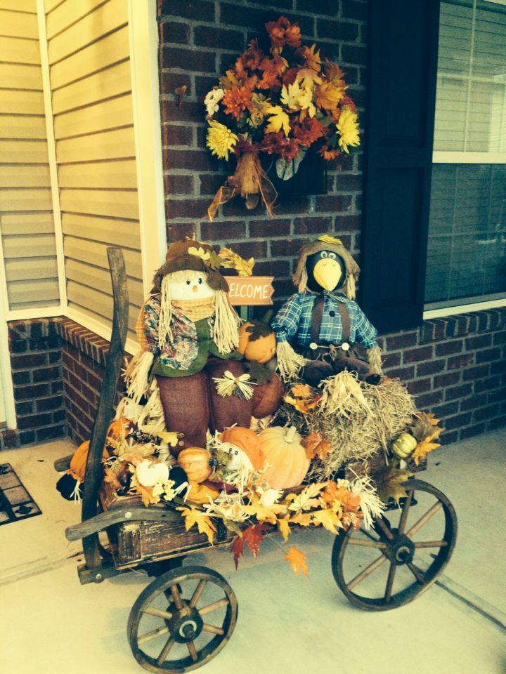 Best 25 Fall wagon decor ideas on Pinterest