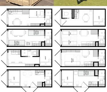 98 best images about floor plans vagones on pinterest shipping container homes container - Lot ek container home kit ...