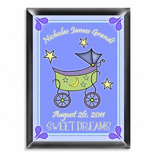 21 best custom baby gifts images on pinterest custom baby gifts personalized baby carriage room sign available in blue or pink http negle Gallery
