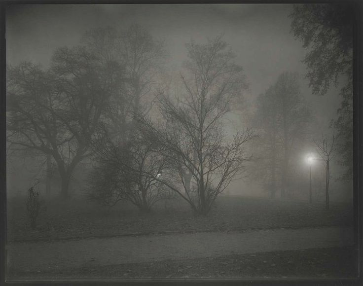 Prague at Night 1958_Josef Sudek