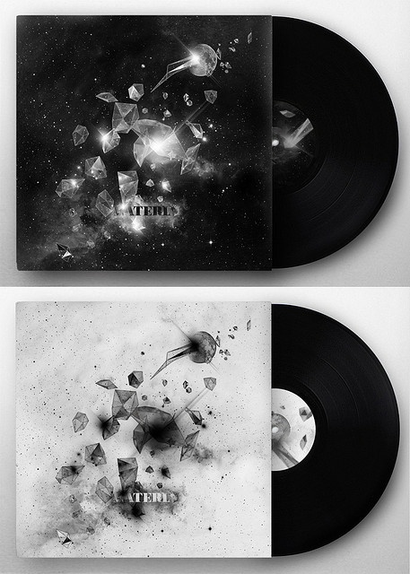 FMP: Experimental Music Graphics. these designs are basic and plain but effective as the monochrome colours work well with the image that is smashing across the cover.