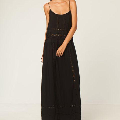 LULU DRESS - TIE MAXI DRESS – Boutique Online Fashion Clothing Store | Marshmellow
