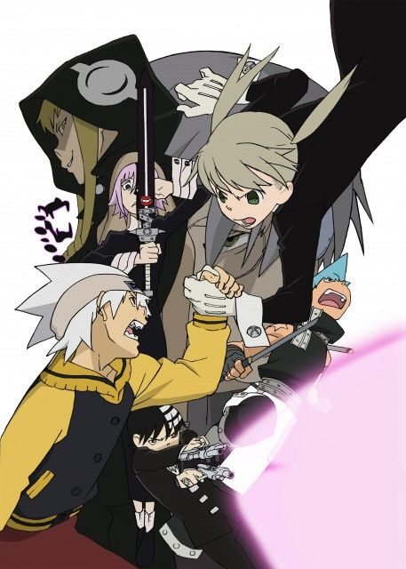 Soul Eater, Maka, Soul, Black Star, Crona, Death The Kid