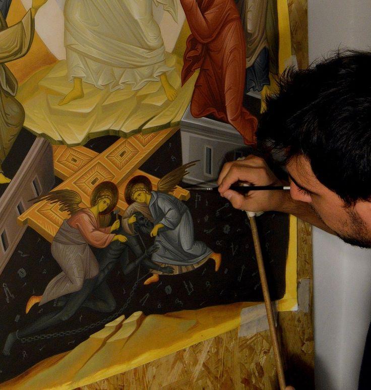Resurrection Orthodox Icon