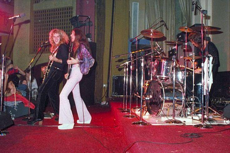 Rush Debut Album Tour Pictures Agora Ballroom