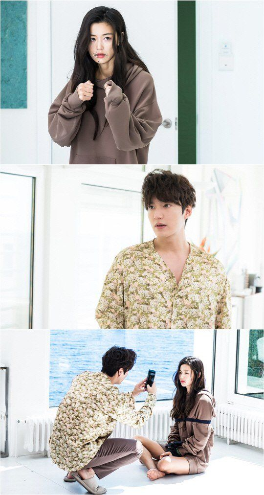"""""""The Legend of the Blue Sea"""" Jeon Ji-hyeon tied up? Meets Lee Min-ho for the first time"""