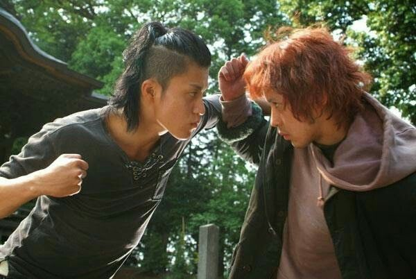 Takiya Genji vs. Rindaman | Crows zero