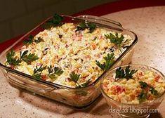 Aceasta salata face parte din Meniul de week-end (2) , cu care ocazie am mai pregatit: Supa-crema de brocoli cu crutoane , Budinca de clatit...