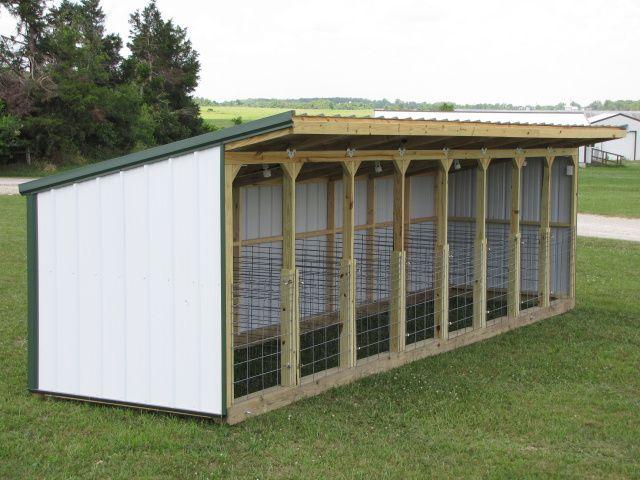 bottle calf shed