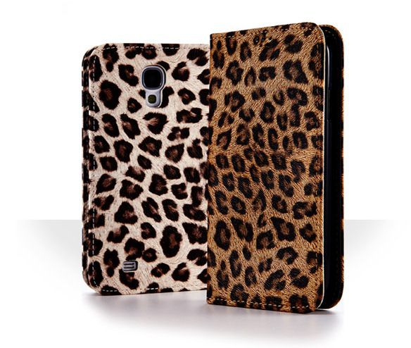 Antique Leopard Pattern Fashion Flip Case for Optimus F7