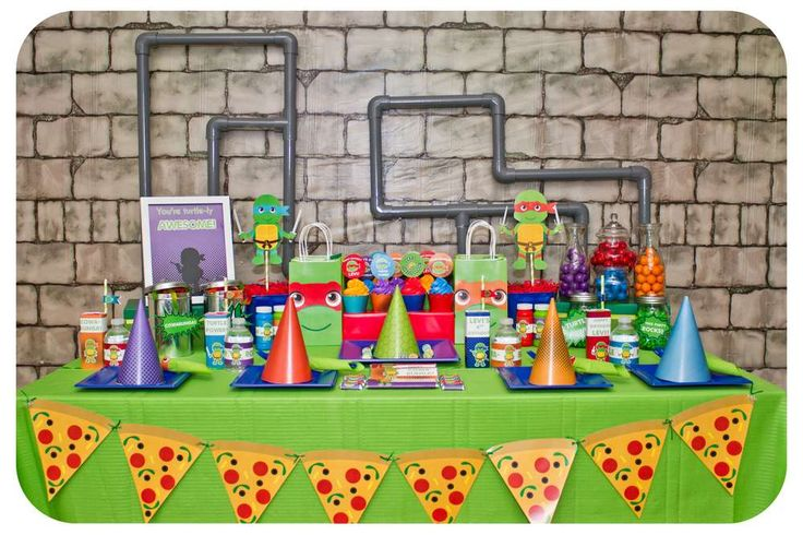 Teenage Mutant Ninja Turtles | CatchMyParty.com