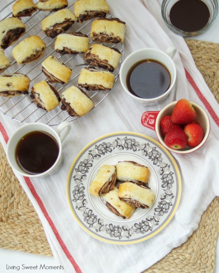 This Chocolate Espresso Rugelach recipe is super easy to make & delicious…