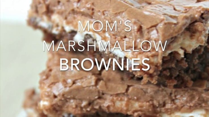 Mom's Famous Marshmallow Brownies | Six Sisters Stuff